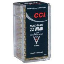 CCI 22WMR MAXI M JHP