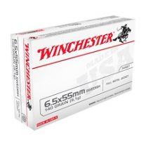 Winchester 6.5x55 FMJ 9.0 gr