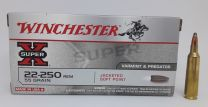 Winchester Soft Point .22-250 Rem. 3,56 g.